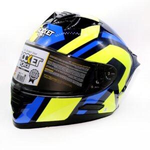 Cascos CASCO NOX PROTOTYPE 2 BLUE ROCKET FORCE CERRADO casco moto