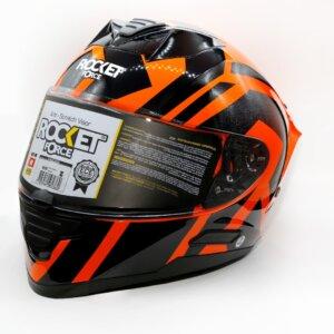 Cascos CASCO NOX PROTOTYPE 2 ORANGE ROCKET FORCE CERRADO casco de motos