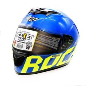 Cascos CASCO A1 RIDE BLUE ROCKET FORCE CERRADO CASCO A1 RIDE BLUE ROCKET FORCE CERRADO