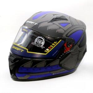 Cascos CASCO SHAFT 581 EVO TEKSON SHAFT CERRADO AZUL casco para moto
