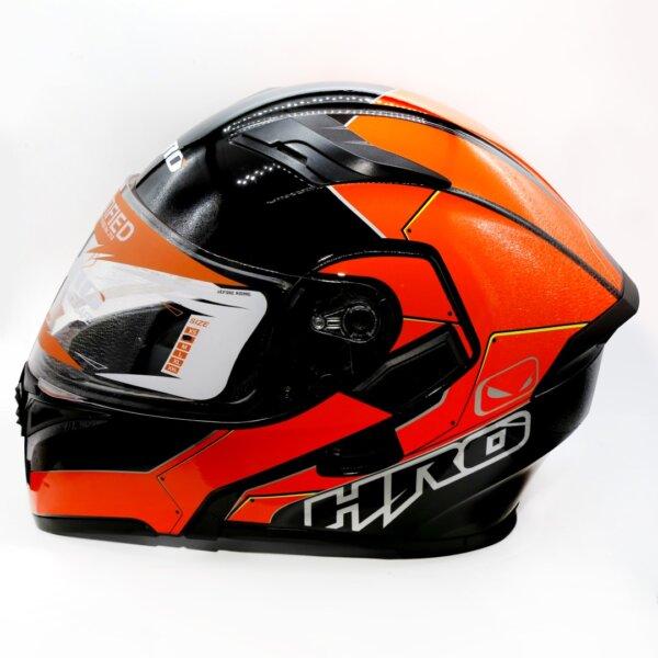 Cascos CASCO HRO 3400 SAIKO HRO ABATIBLE NARANJA NEÓN casco abatible