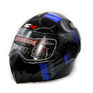 Cascos CASCO ICH 3110 TRIAL AZUL ICH ABATIBLE casco abatible